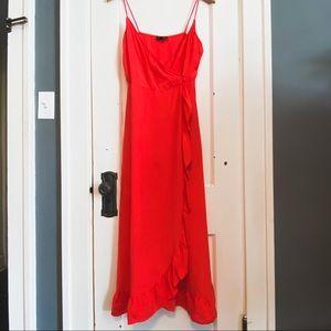 Topshop wrap dress 👗